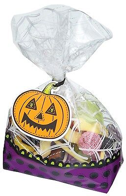 Kitchen Craft Spookily Does It Pack of 30 Halloween Treat Or Treat Bags Kits