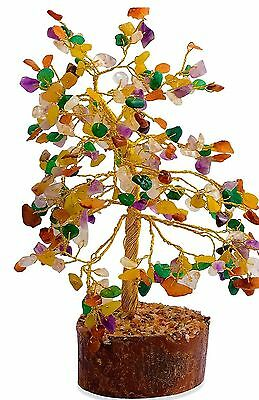 Gemstone Tree Natural tumbled gems 225 carats 300 stones