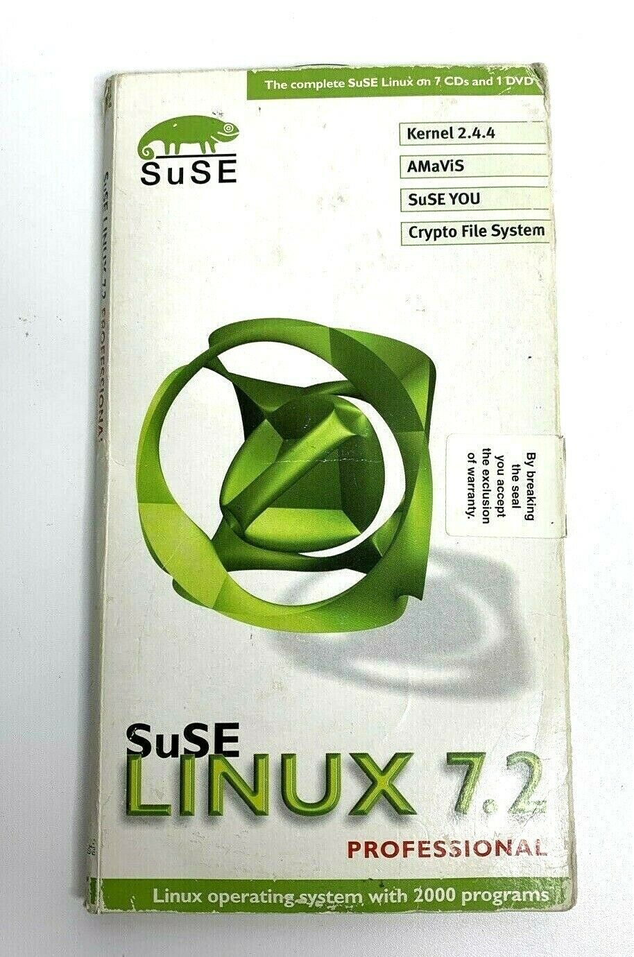 SuSE LINUX 7.2 Professional Software Package