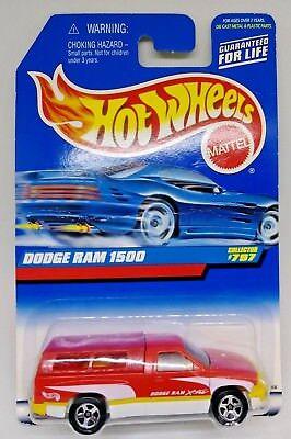 1998 Dodge Ram 1500 Pickup Truck Hot Wheels 1 64 Scale Diecast Truck