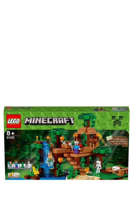 NEW Lego Minecraft The Jungle Tree House 21125