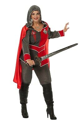Ritterin Ritterdame Gwen auch große Größen Big Size - Big Size Kostüme