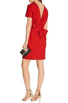 NWT  LANVIN Bow Back Short-Sleeve Dress size 38