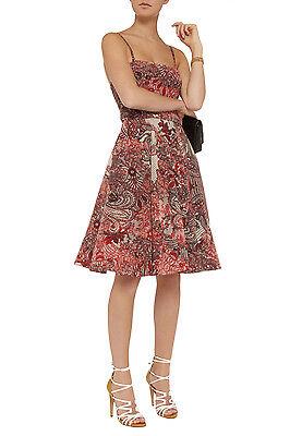 McQ Alexander McQueen Rockabilly Silk & Tulle Dress Size 44