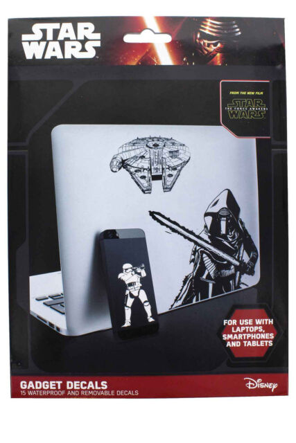 NEW STAR WARS Gadget Decals