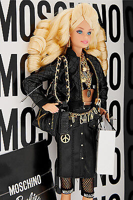 MOSCHINO BARBIE DOLL - LIMITED EDITION - BLONDE VERSION