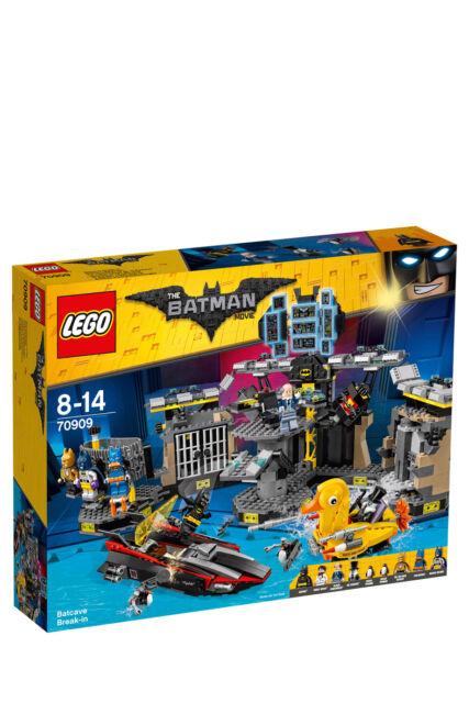 NEW Lego Batman Movie Batcave Break-in 70909
