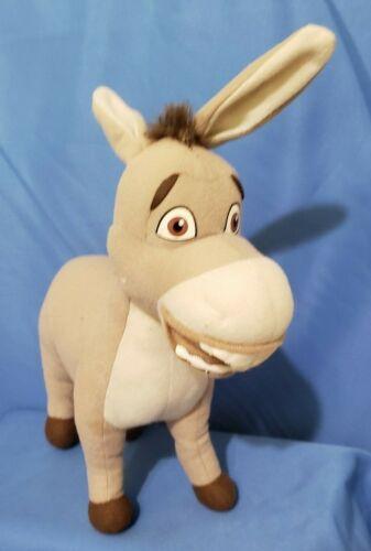 "2007 Kellytown DreamWorks Shrek the Third Donkey Plush 12"" Tall"