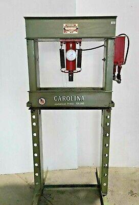 Cbp 1200 Carolina 50 Ton Frame Hydraulic Shop Press Made In Usa