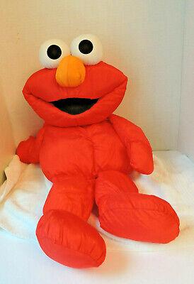 "Large Soft ""Elmo"" Doll /Sesame St./ by Playskool and Children's TV Workshop"