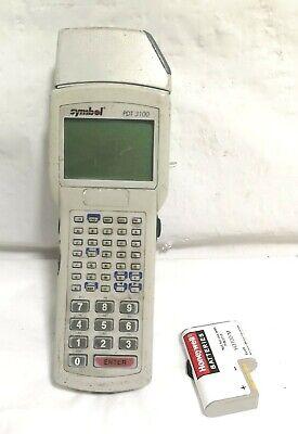 Symbol Pdt3100-s0864010 Wireless Barcode Scanner