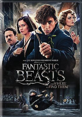 Fantastic Beasts And Where To Find Them  Dvd 2016  New Fantasy  Ships On 03 28