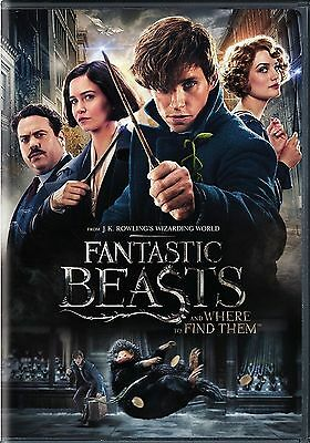 Fantastic Beasts And Where To Find Them  Dvd 2016  New Fantasy Shipping Now