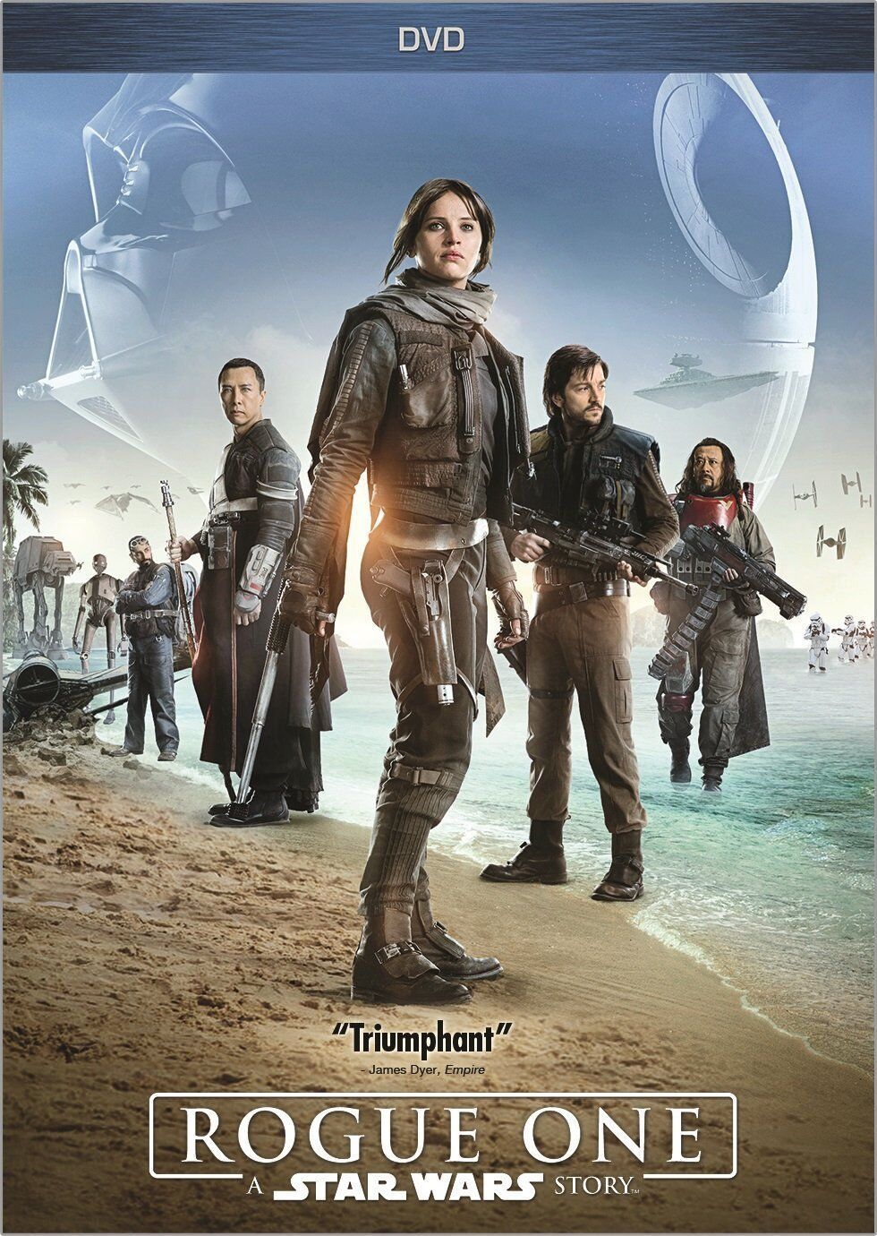 Image result for rogue one a star wars story dvd