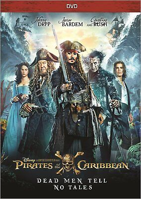 Pirates Of The Caribbean  Dead Men Tell No Tales  Dvd 2017  New