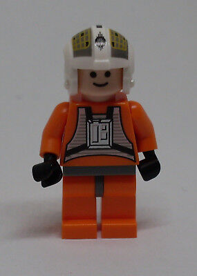 Lego Star Wars Figur -  Dutch Vander Rebel Pilot ( Rebellen orange Episode ) Neu