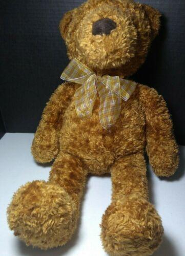 "Toys R Us Animal Alley 2000 Teddy Bear 22"" Tan Beige Brown Plush Stuffed Vintage"