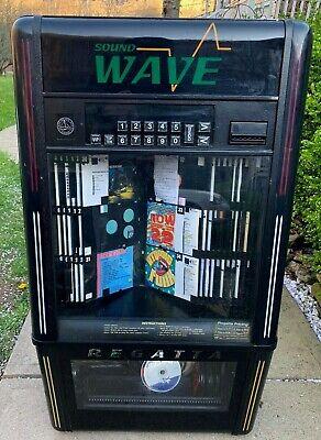 Vintage Regatta Shockwave Wall mounted CD Player Jukebox   WATCH VIDEO