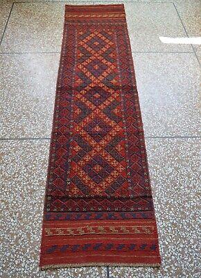TURK\u0130SH RUNNER RUG 2x8.8 feet Vintage Turkish Rug,Wool Rugs,Long runner rug,Vintage Runner Rug,Bohemian Rug,2x9 feet 24x106 Inch,3846