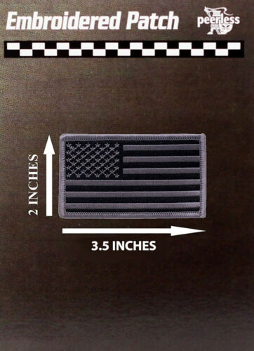 """American Flag Patch Subdued 2"""" x 3.5"""""""