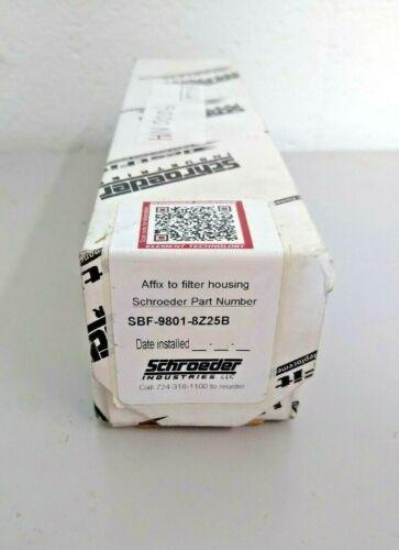 Schroeder SBF-9801-8Z25B