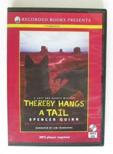 Thereby Hangs a Tail by Spencer Quinn MP3 CD Audiobook
