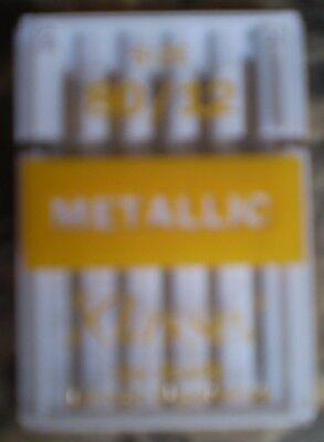 Klasse Machine Needle - Metallic.  Size 80 / 12