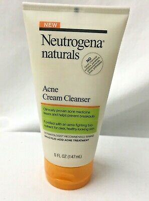 Neutrogena Naturals Acne Cream Cleanser 5 oz.