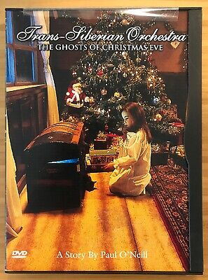 Trans-Siberian Orchestra The Ghosts Of Christmas Eve (DVD, 2001) *RARE*