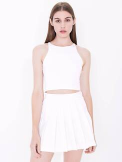 American Apparel white tennis skirt Ormond Glen Eira Area Preview