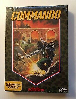 Commando ( Atari 2600/7800 - Activision) Nuevo Precintado Caja