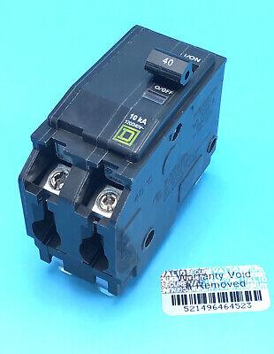 New Circuit Breaker Square D Qo240 40 Amp 2 Pole 120240v Plug In