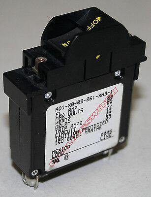 Carling AO1 Series Guarded Circuit Breaker 20 Amp - AO1-X0-05-261-XN3-I