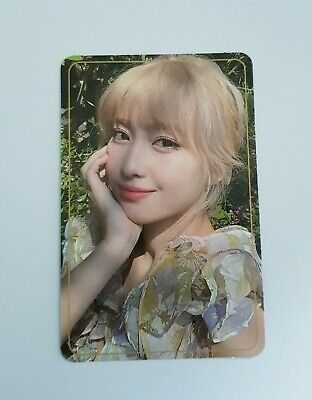 """TWICE MOMO Official Photocard - Official New 9th Mini Album """" MORE & MORE """""""