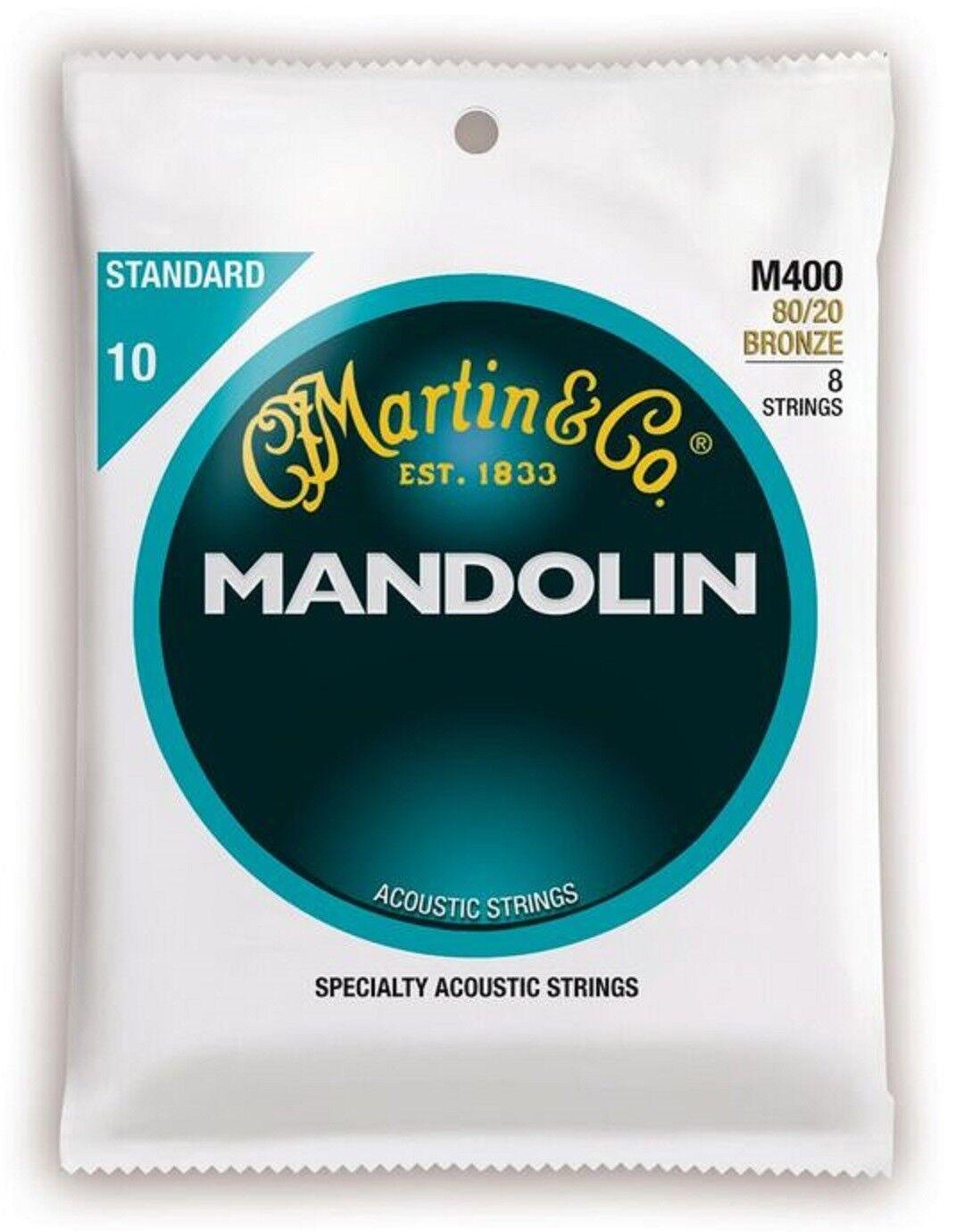 ►SATZ MARTIN MANDOLINENSAITEN = 8 SAITEN—MANDOLINE—BRONZE 010-034 QUALITY M400 ◄