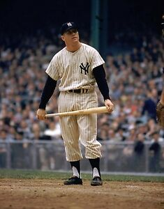 MICKEY MANTLE 8X10 PHOTO NEW YORK YANKEES NY MLB BASEBALL PICTURE COLOR AT HOME