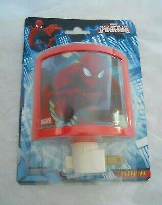 Marvel Spiderman Night Light Red Blue *new*