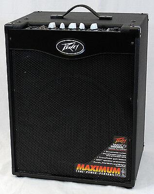 Peavey MAX 115 II Electric Bass Guitar 300-Watt Combo Amplifier
