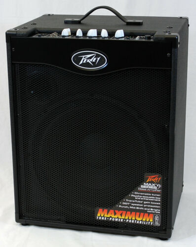 peavey max 115 ii electric bass guitar 300 watt combo amplifier 14367113174 ebay. Black Bedroom Furniture Sets. Home Design Ideas