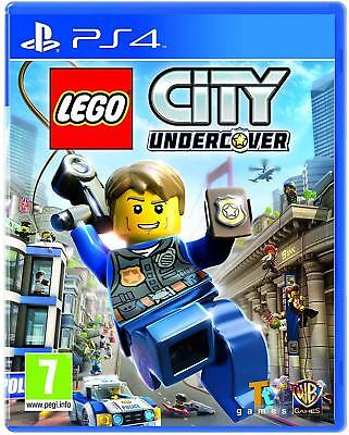 LEGO City Undercover PS4 PlayStation 4 Brand New Factory Sealed