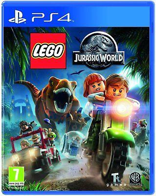 LEGO Jurassic World PS4 Sony PlayStation 4 Brand New Factory Sealed