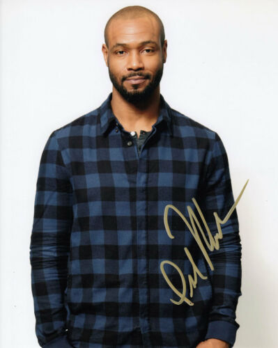 ISAIAH MUSTAFA SHADOWHUNTERS SIGNED 10X8 PHOTO AFTAL & UACC [14733] IN PERSON