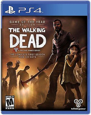 The Walking Dead: The Complete First Season  (Sony PlayStation 4, 2014) NEW, used for sale  Shipping to South Africa