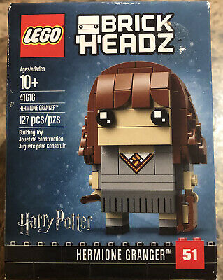 LEGO BrickHeadz 41616 - Hermione Granger - 127 Pcs - New. Sealed. Retired.
