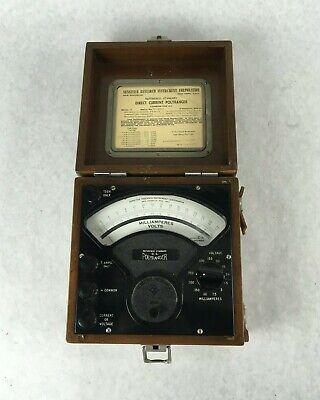 Reference Standard Electrical D.c. Polyranger Current Voltage