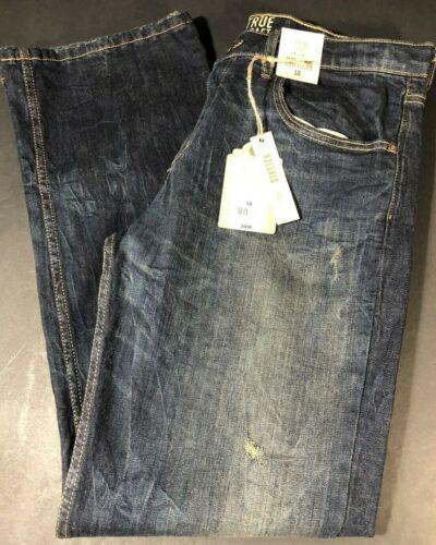 Childrens Clothes Boys 18 True Craft Jeans Stretch Adjustable Waist Straight Leg