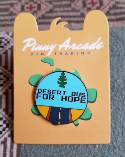 Pinny Arcade PAX Desert Bus Pin Logo 2016 For Hope - Benefits Charity