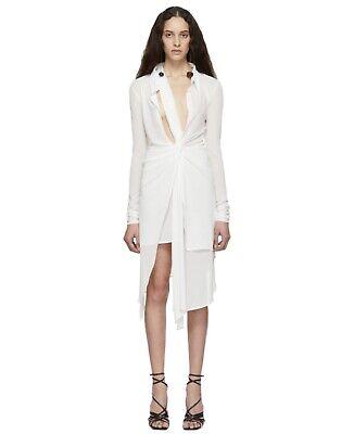 JACQUEMUS White 'La Robe Bellagio' Dress size 38/US 6 New