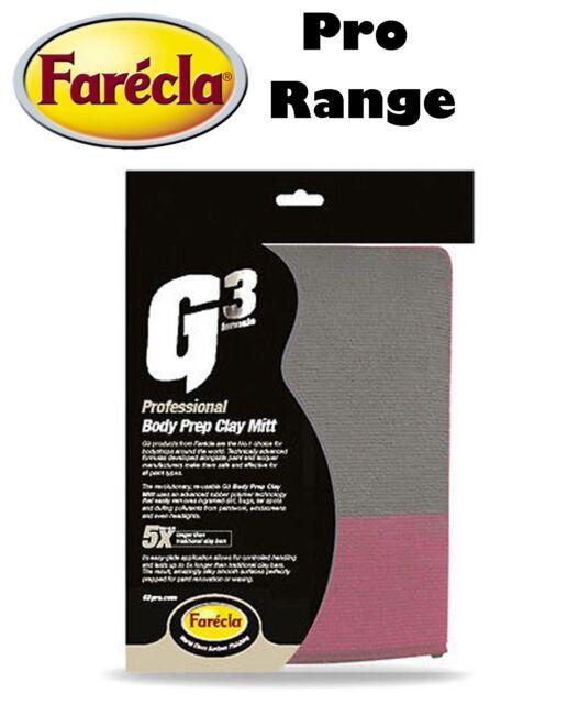 Farecla G3 Pro Body Prep Clay Mitt Car Bodywork Detailing Mitt 7191