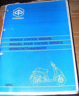 PIAGGIO NRG SERVICE STATION MANUAL
